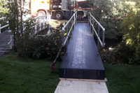 Verhuur van tijdelijke bruggen