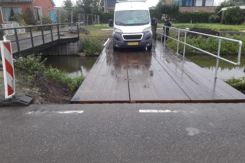 Verhuur - Tijdelijke brug
