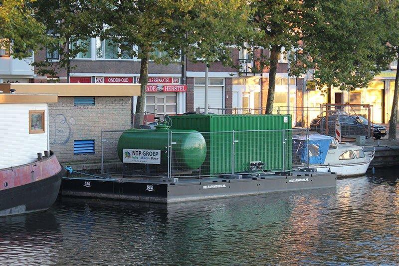 Verhuur - Drijvende opslagplaats